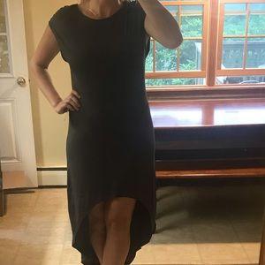 Express Charcoal Grey Hi-Lo Dress - Large